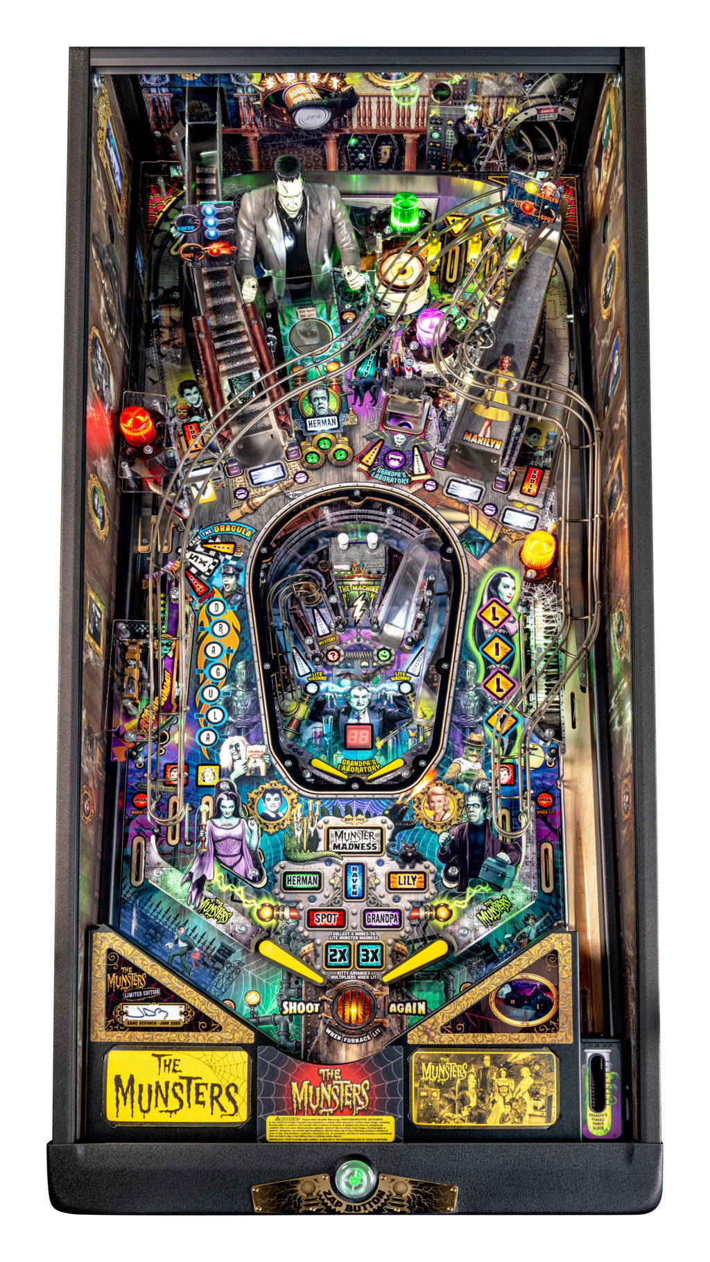 Munsters LE Playfield 01 mini